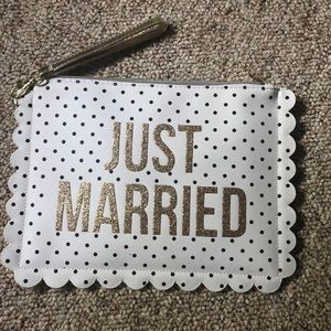 Just Married Clutch